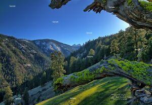 Shingle Creek Seven Devils Mountains Idaho #1 Photo Poster Print