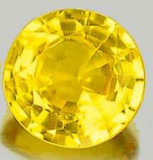 Loupe Clean Very Good Cut Yellow Loose Sapphires