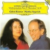 BEETHOVEN VIOLINSONATEN No 9 No 10 GIDON KREMER / MARTHA ARGERICH CD - SEALED