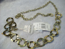 Merona Brand For Target Woman's Metal Chain Link Belt. Size L  NWT
