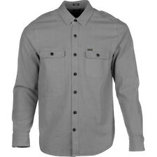 Volcom Stoneham Long Sleeve Shirt (L) Dark Grey
