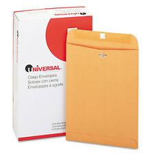 100 Universal 9x12 Clasp Envelopes Mailing Kraft Clasp Manila Catalog Brown #90