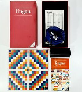 ©1969 Ravensburger Casino Serie LINGUA dt. Scrabble/Kreuzworträtsel/Buchstaben