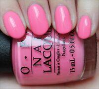 OPI Nail Polish Kiss Me I'm Brazilian NL A68 RARE VHTF Discontinue 15 ml RARE
