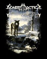 SONATA ARCTICA cd cvr PARIAH'S CHILD World Tour 2014 Official SHIRT XXL 2X oop