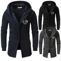 Men's Fashion Winter Hoodie Warm Hooded Sweatshirt Sweater Coat Jacket Outwear