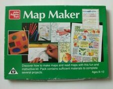 MAP MAKER John Adams Toys Educational Kit Geography Age 8 to 12 Made in England