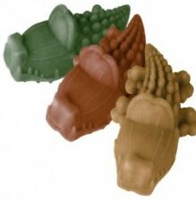 Dog Chews ~ Whimzees 6 x SMALL Alligators Crocodiles Vegetarian ~ 3 Flavour Mix