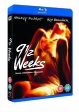 9 1/2  Weeks (Kim Basinger Mickey Rourke) Blu-ray Region B nine and a half weeks