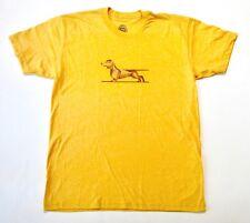 Dachshund T-Shirt, Men's Size Xl Golden Doodle Brand Usa Made Yellow Dog $27