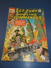 Sgt. Fury and His Howling Commandos #92 Bronze age VG