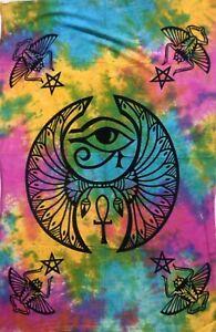 Tapestry Tie Dye Egypt Eye Home Decor Wall Hanging Indian Mandala Poster Decor