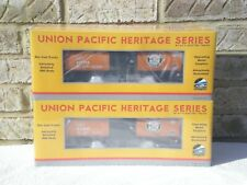 Sealed 2-Pack:  MTH Premier Southern Pacific (SP) UP Heritage Tank Car
