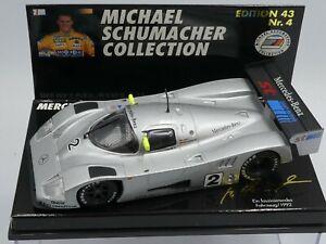Minichamps 1:43 Michael Schumacher Mercedes-Benz C11 Ein faszinierendes Fahrzeug