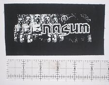 NASUM - DIY Crust Punk Patch Unholy Grave Despise you D-beat Hellnation Dropdead