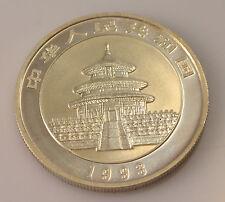 China,  5  Yuan, 1993, Panda,  1/2 Unze  Feinsilber