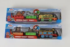 Thomas & Friends Trackmaster (Lot of 2) MONKEY MANIA THOMAS/ ANIMAL PARTY PERCY