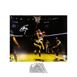 Stephen Curry Autographed Golden State Warriors 16x20 Photo JSA COA (Silver Ink)