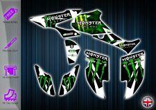 HONDA TRX450R STICKERS - GRAPHICS KIT - DECALS TRX 450 R ATV GRAPHICS KIT TRX