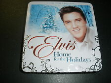 Elvis Home For The Holidays Postcard, Booklet And Candle No Cd