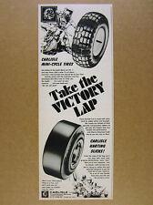 1973 Carlisle Karting Go-Kart Slicks & Mini-bike Cycle Tires vintage print Ad