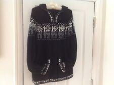 Nepalese Winter Warm Knitted Jumper/Jacket in VGC