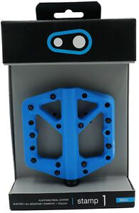 Crank Brothers Stamp 1 Assorted Colors Small or Large MTB Bike Platform Pedals