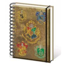 HARRY POTTER A5 NOTEBOOK Hogwarts' Crests
