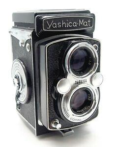 YASHICA MAT TLR CAMERA with YASHINON 80mm f3.5 LENS SERVICED - UK DEALER