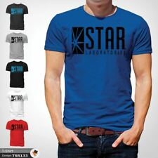 STAR Laboratories T Shirt Top The Flash S.T.A.R. Labs  GIFT T-SHIRTS Blue !