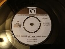 THE ALAN MOORHOUSE ORCHESTRA . ( THE BALLAD OF ) THE GREEN BERETS 1960's Classic