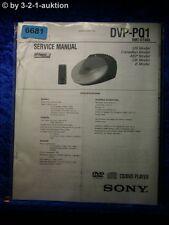 Sony Service Manual DVP PQ1 CD/DVD Player (#6681)