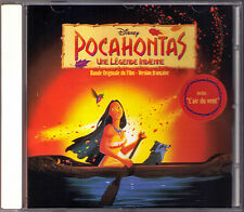 Pocahontas Alan Menken Stephen Schwartz French est BANDE ORIGINALE DU FILM CD