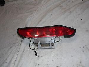 OEM 00 Nissan Xterra Rear Lift Gate Third Brake Light Assembly, lens cover 3rd