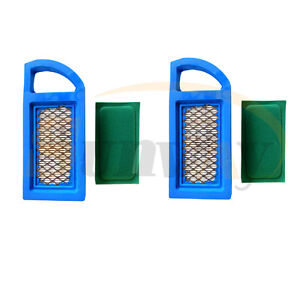 2× Air Filter For Briggs & Stratton 613022 650821 697152 698413 797007 794421