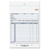 Rediform 2-part Carbonless Sales Forms - 50 Sheet[s] - Stapled - 2 Part -