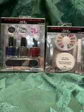 Beauty Bar Nail Glitter Kit Gems & Nail Polish Kit