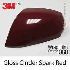 152x1000cm FILM Gloss Cinder Spark Red 3M 1080 GP253 Vinyle COVERING Series Wrap