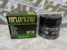 NEW Hiflo Oil Filter HF138 for Suzuki GSXF600 GSX600 F GSXF650 GSX650 F NEW