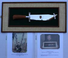 Presentation 3rd Model Mac V Sog Buffalo Bill Knife