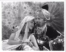 "*ALI BABA GOES TO TOWN (1937) ""Sultan"" Roland Young with ""Princess"" June Lang"
