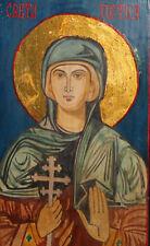 Saint Petka Praskevi Tempera Wood Hand Painted Icon