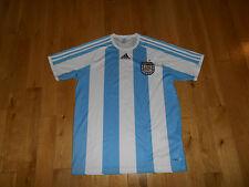 727d4a34d62 ADIDAS CLIMALITE AFA ARGENTINA FOOTBALL SOCCER 2009 JERSEY KIT MENS M FIFA