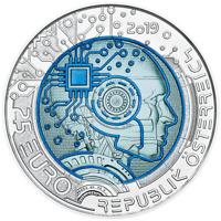"AUSTRIA 2 euro 2018 /""100 Years of REPUBLIC/"" UNC BIMETALLIC"