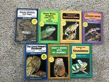 7 Herpetocultural Library Reptile Care Series Book Lot - Lizards, Iguana, Gecko