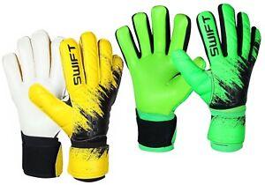 New Design Goalkeeper Goalie Negative Cut Without Finger Saver Football Gloves