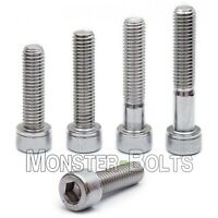 M8 Stainless Steel Socket Head Cap Screws, A2 / 18-8 Metric DIN 912, 1.25 Coarse