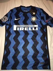 Nike 20-21 Lukaku Inter Milan Champions League Jersey Sz XXL UEFA Soccer UCL