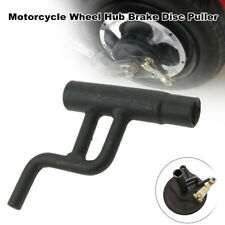 Motorcycle Scooter Wheel Hub Brake Disc Cover Wrench Remove Puller Manual Tool