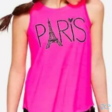 Justice Girls Size 8 Paris Swingy Tank